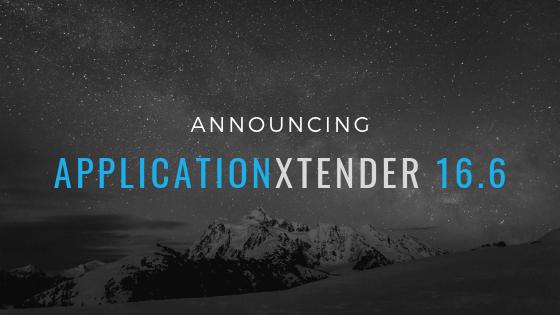 ApplicationXtender 16.6