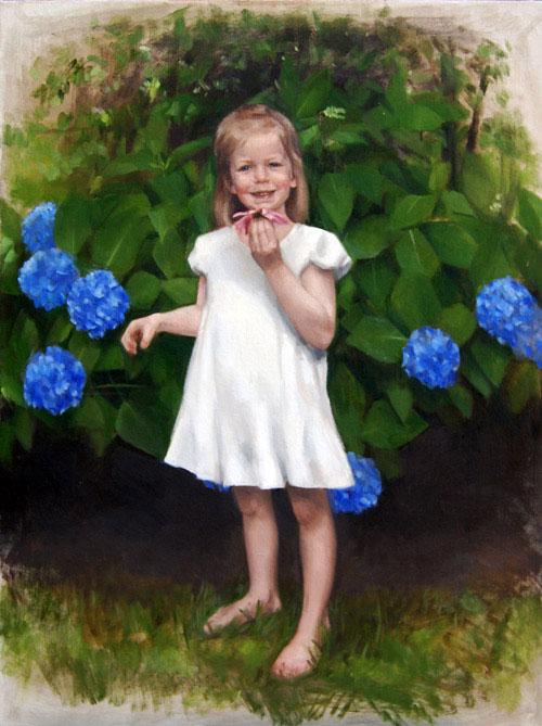 Nellie | Child Portrait | Kate Bradley