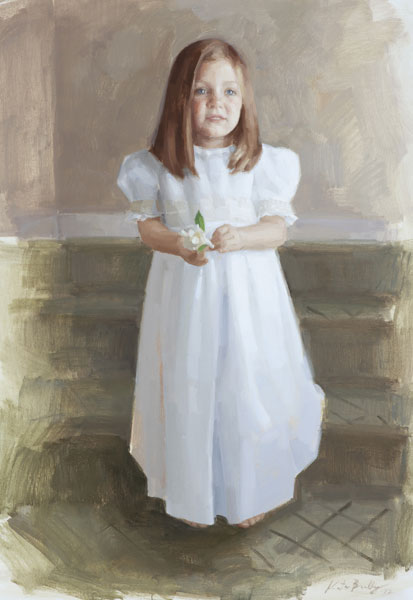 oil children's portraiture in tennessee