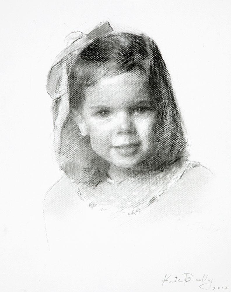 child portrait charcoal memphis tn