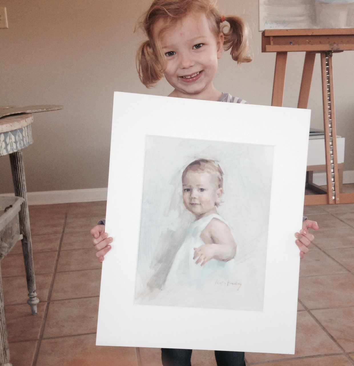 Commissioned Oil portraits of children