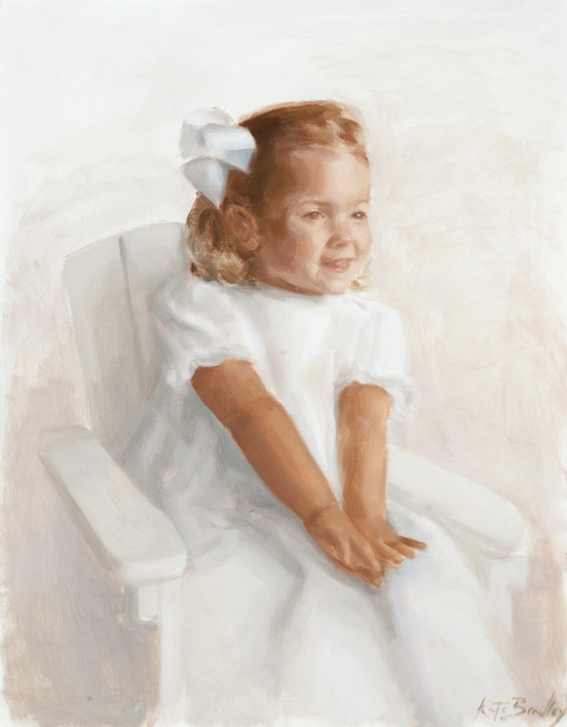 Gabby Himelright, Age 3, Oil