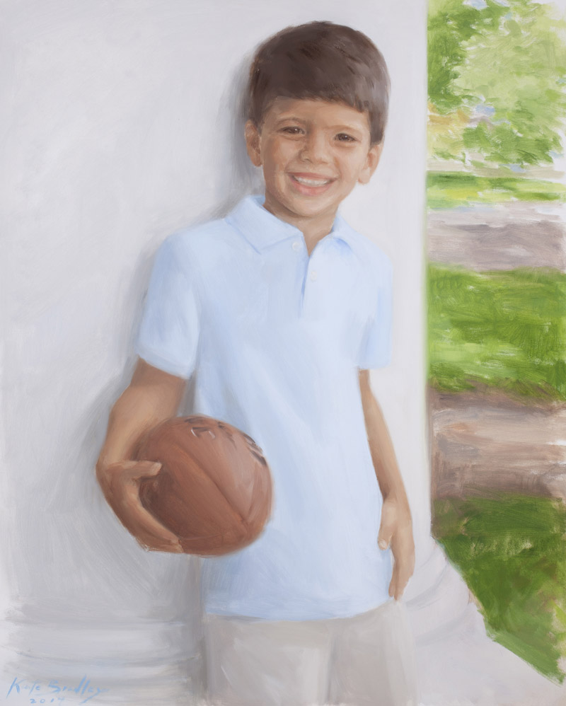 Dhilan Madasu, Age 5, Oil on canvas, Memphis, TN