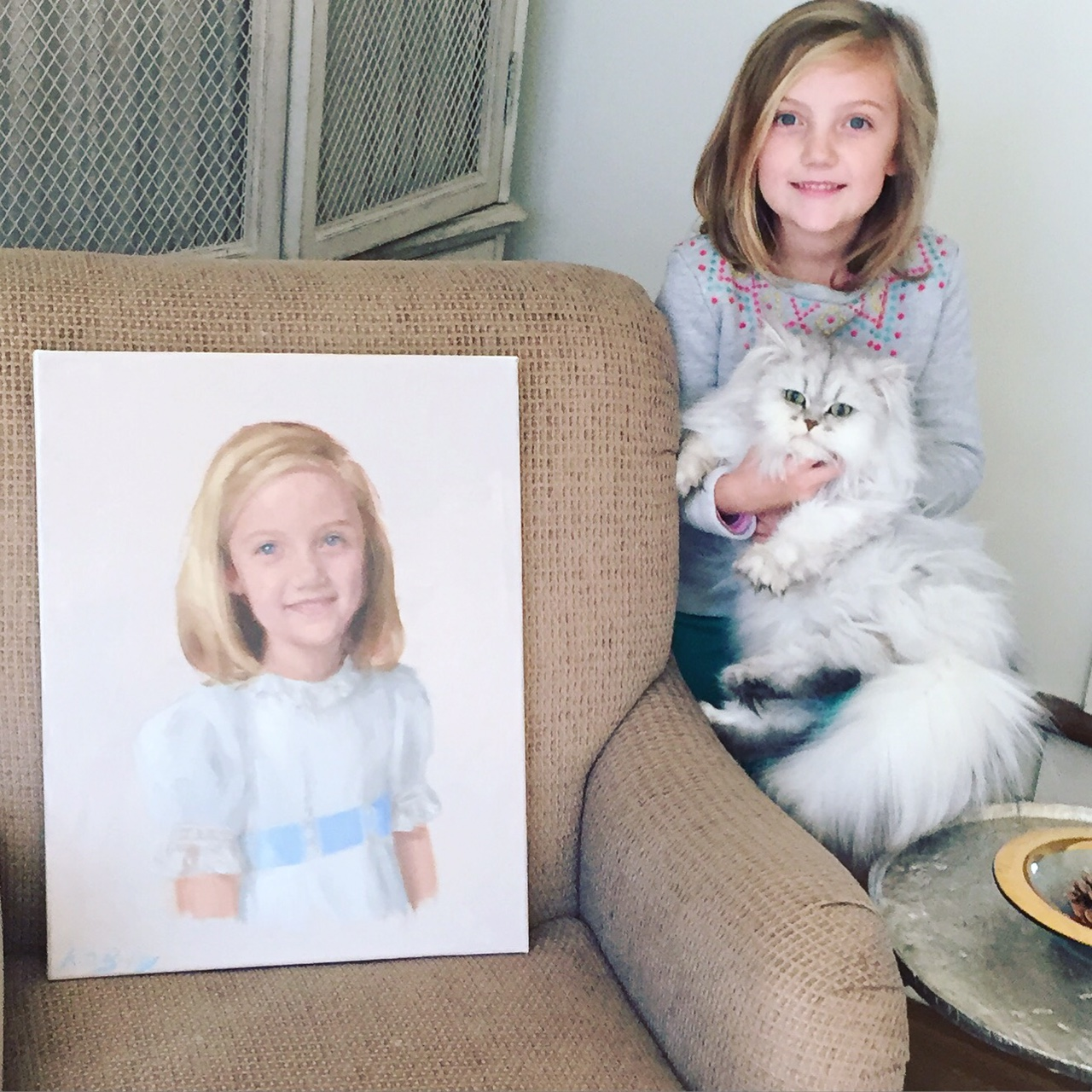 Kennon, her portrait, and Eleanor