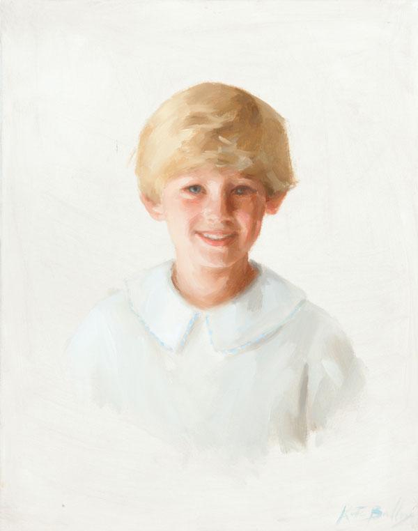 William, Age 6, Oil