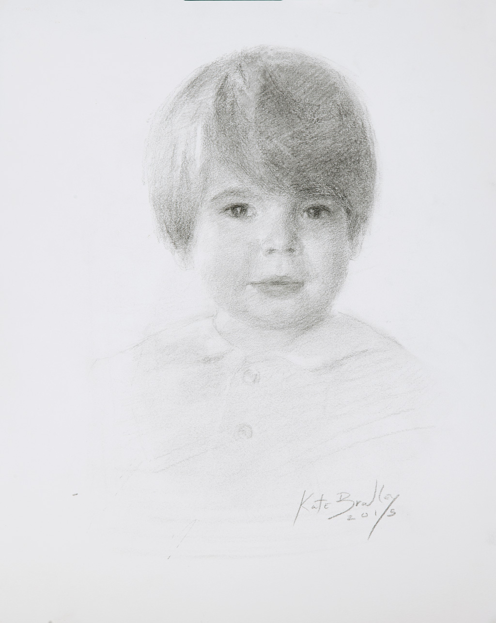 Virgil Love, Age 3, Oil