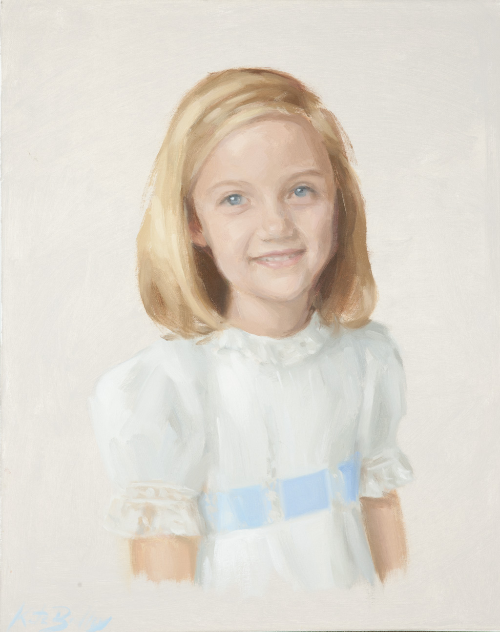 Kennon Humphreys, Age 5, Oil