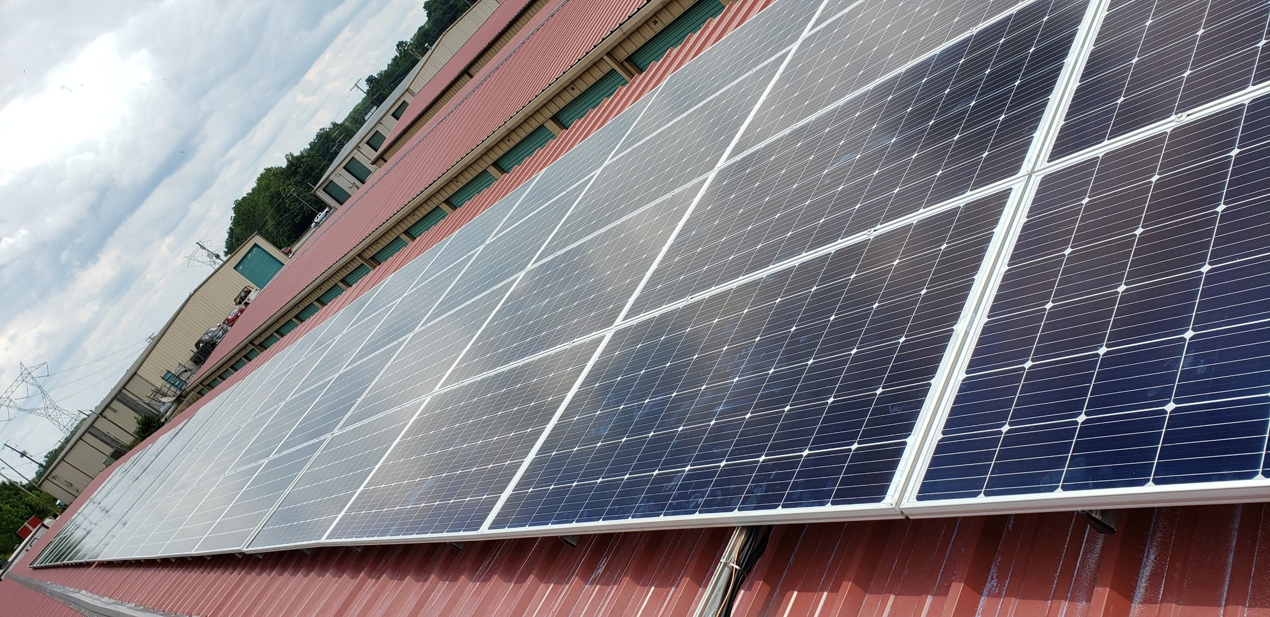 The majority of our energy requirements are produced by 80 solar panels installed on June 19, 2019 by Seal Solar.