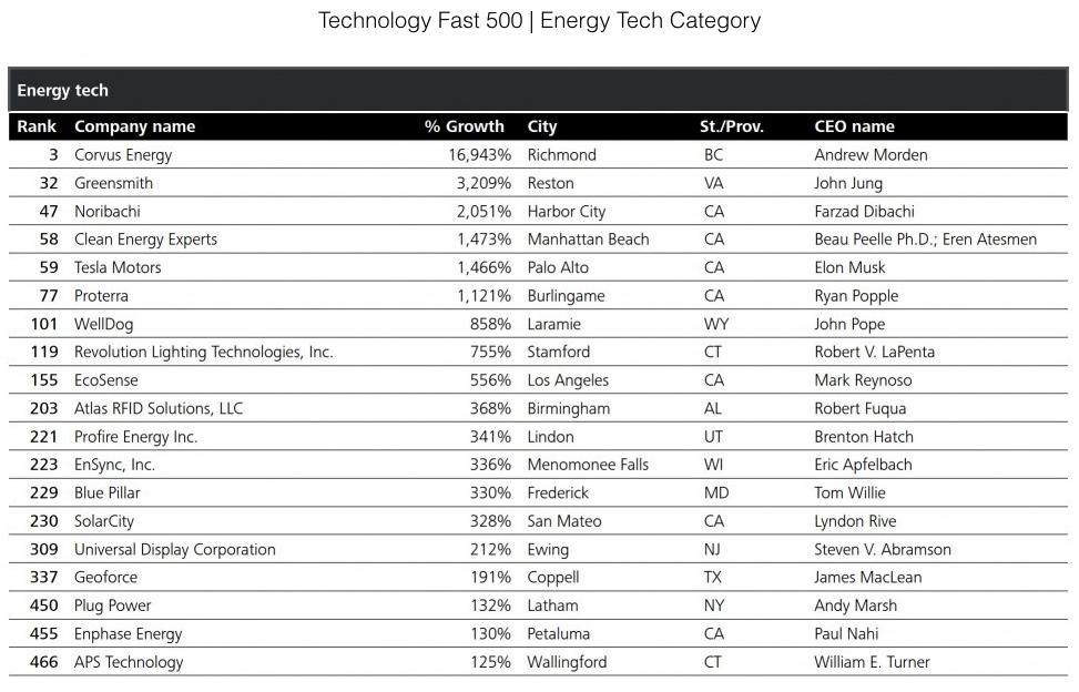 Deloitte Tech Fast 500 2015