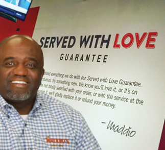 Uncle Maddio's Customer Turned Franchise Owner