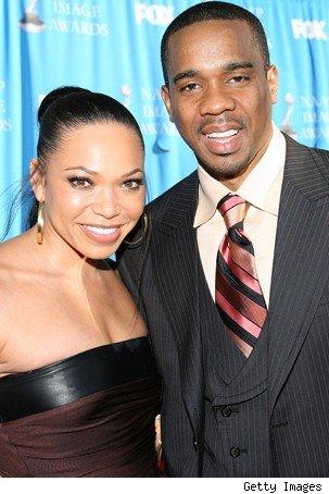 Tisha Campbell and Husband Duane -Martin