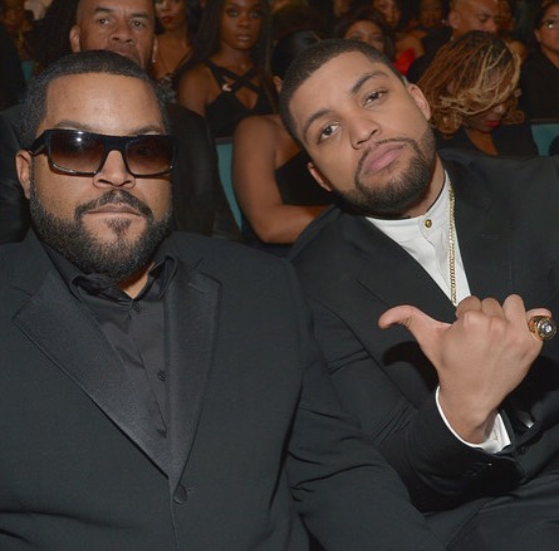 Ice Cube and his son Oshea  Jackson