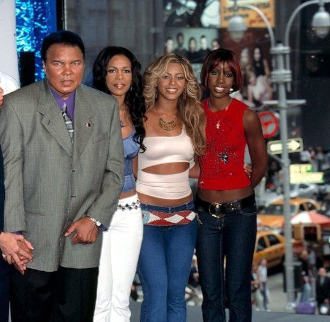 Destiny's Child with Muhammad Ali