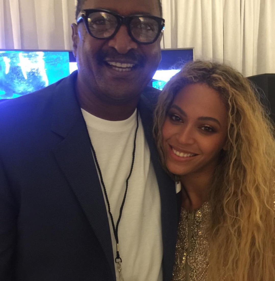 Beyonce and Father Knowles