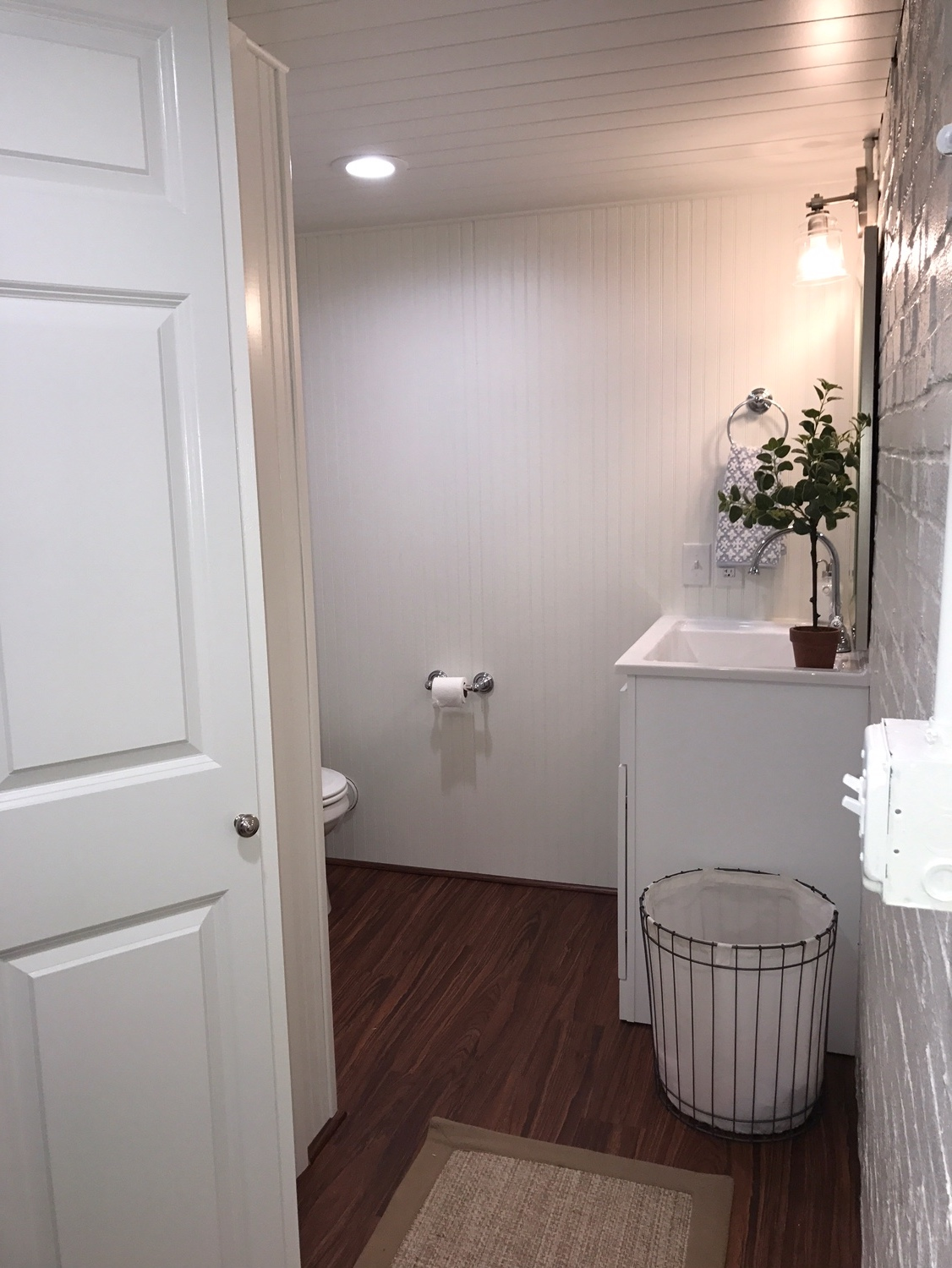 Laundry Room / Bathroom Remodel