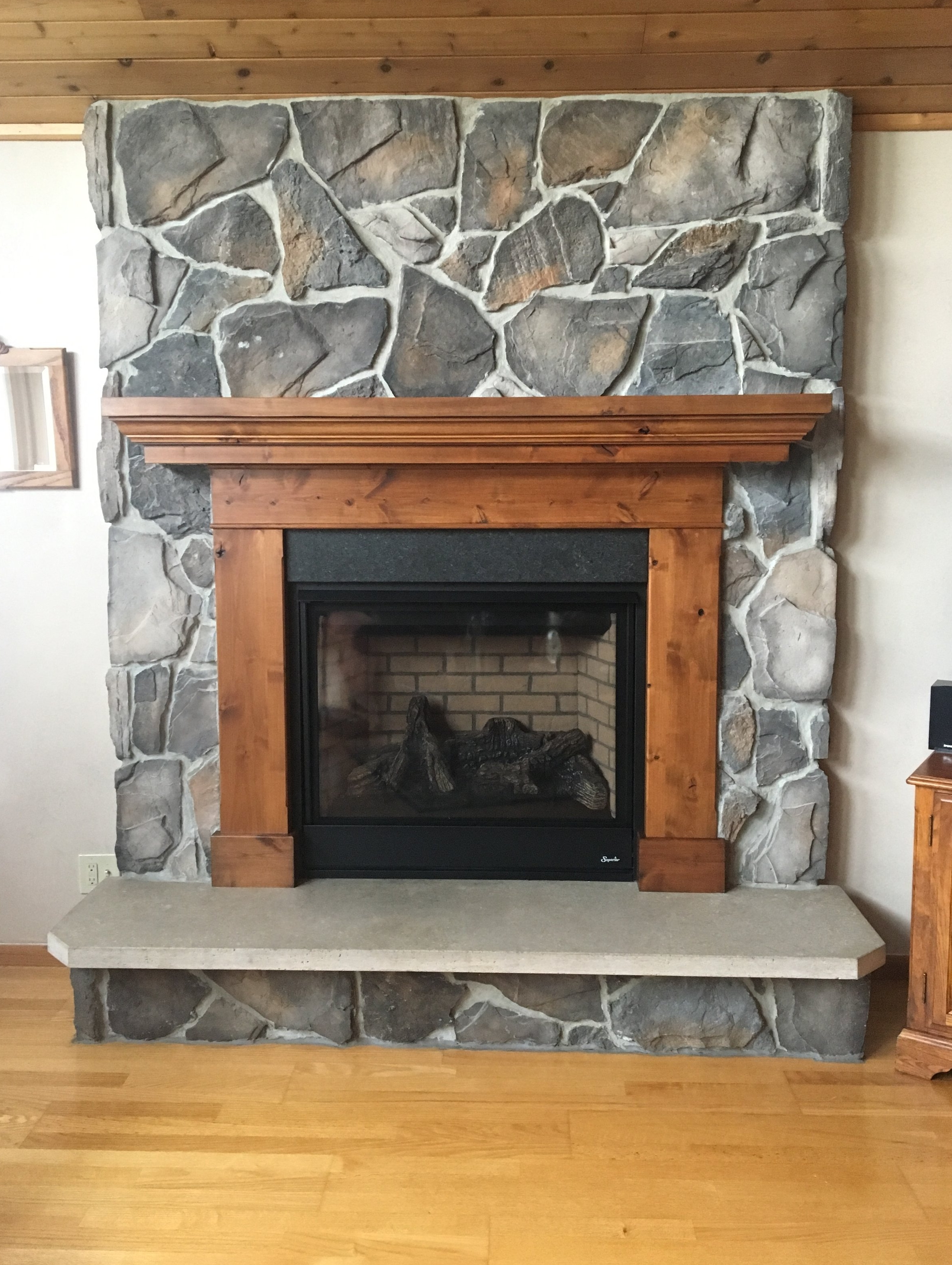 Fireplace Surround and Mantel
