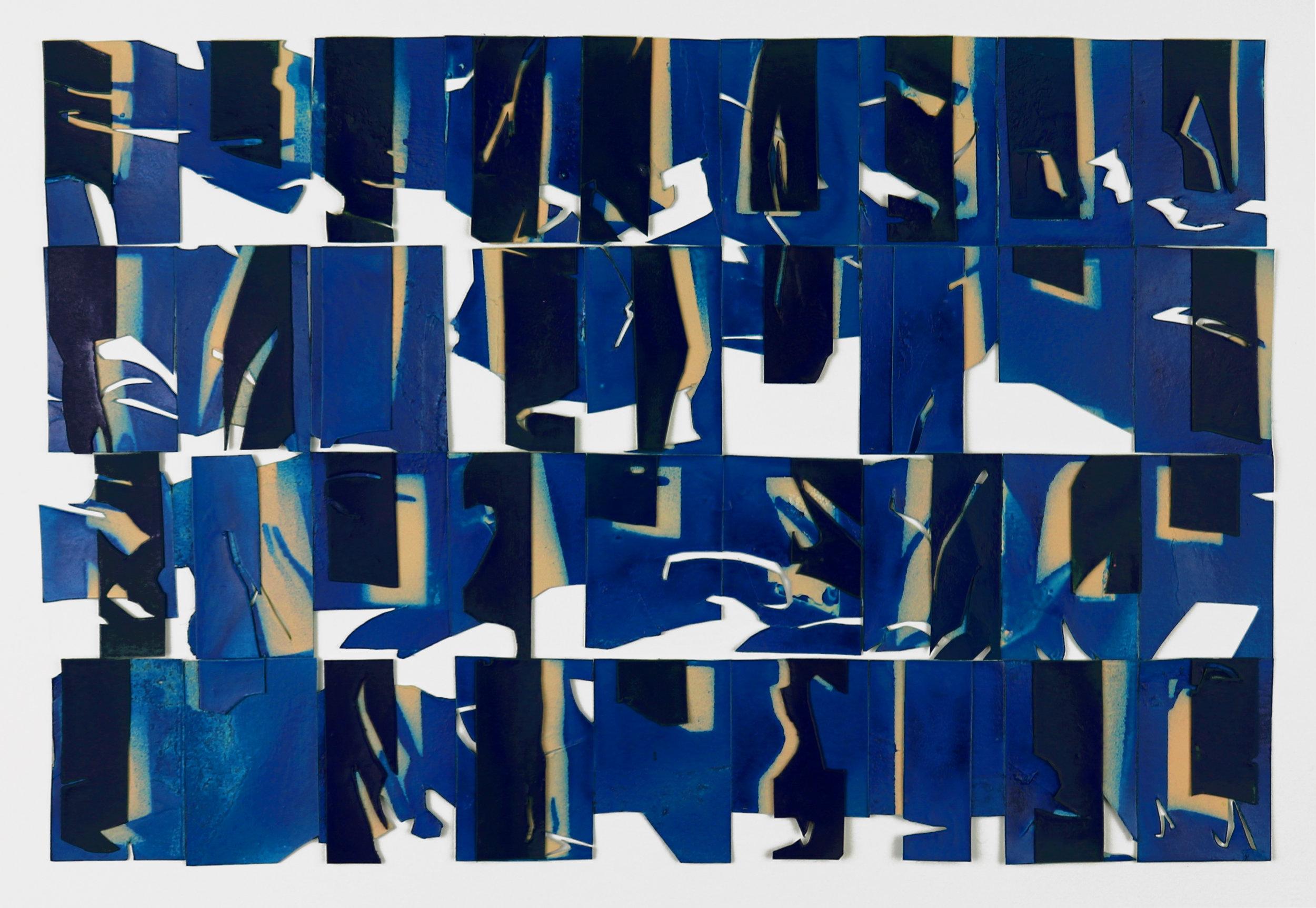 Fugue in Blue