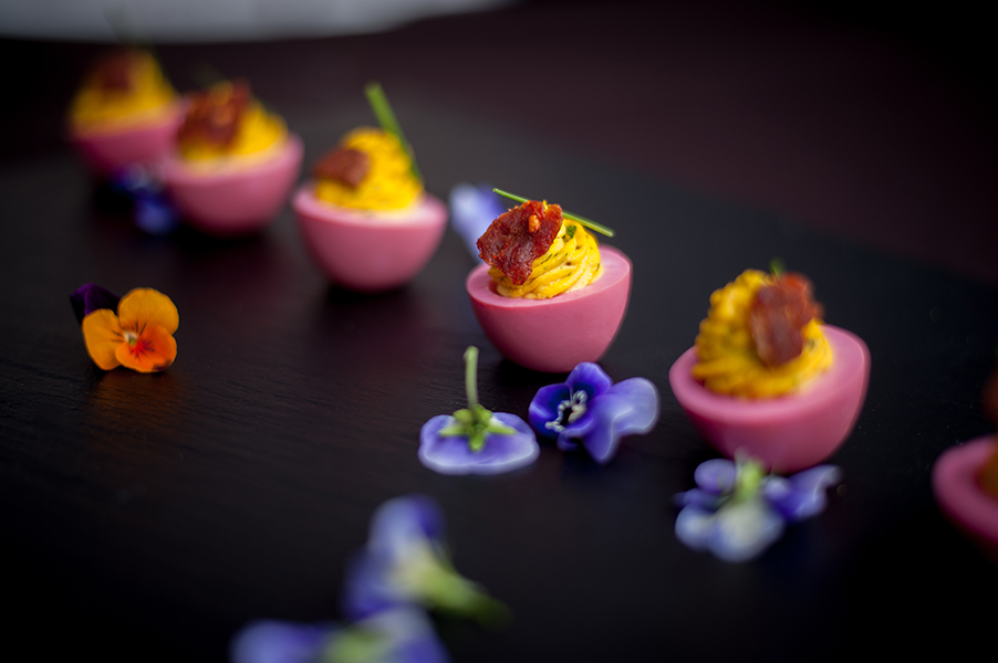 Taste of Pace Beet Pickled Eggs