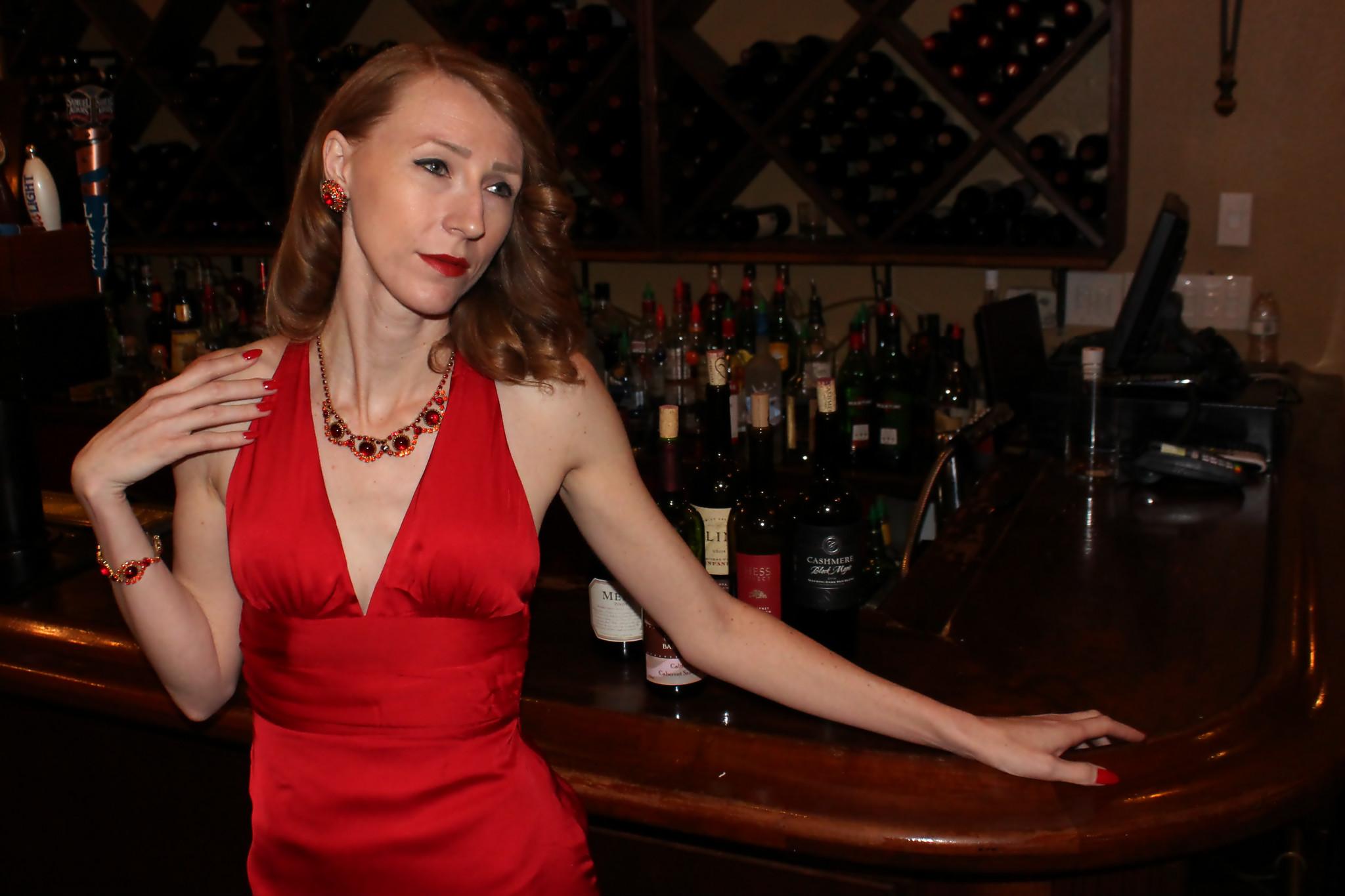 Red Dress    by Doris Hobbs