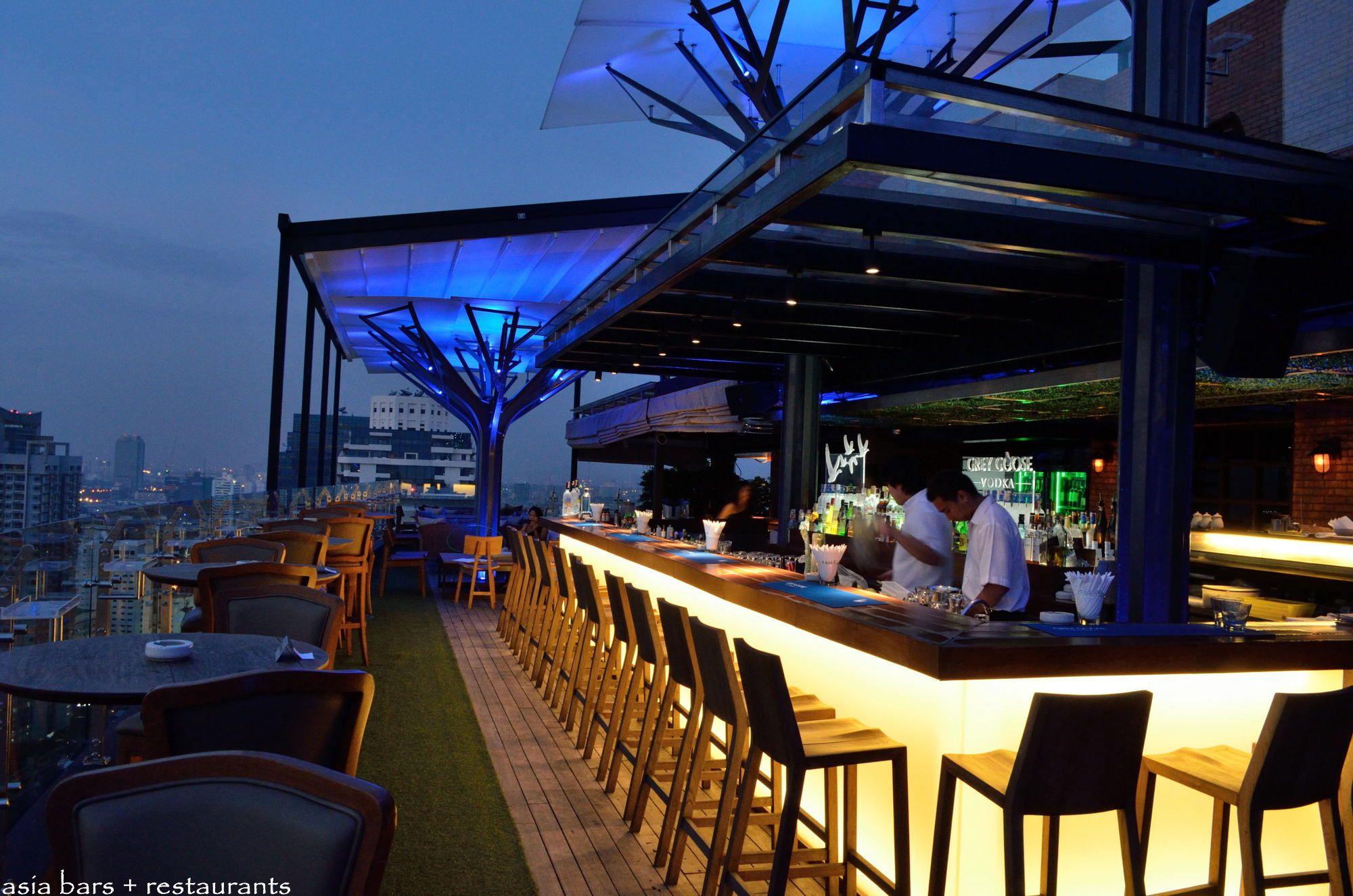 Above Eleven-Rooftop Bar Restaurant Bangkok