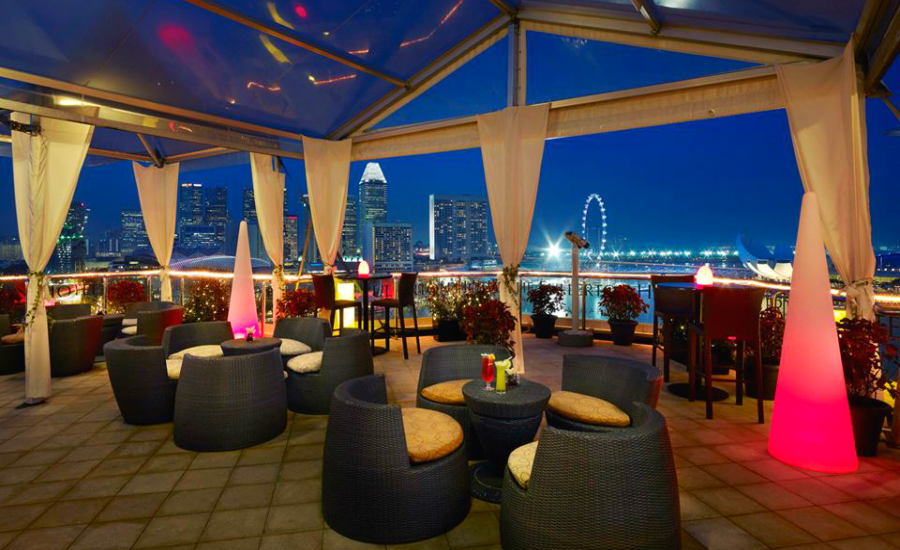 The Lighthouse Rooftop Tapas Restaurant Singapore