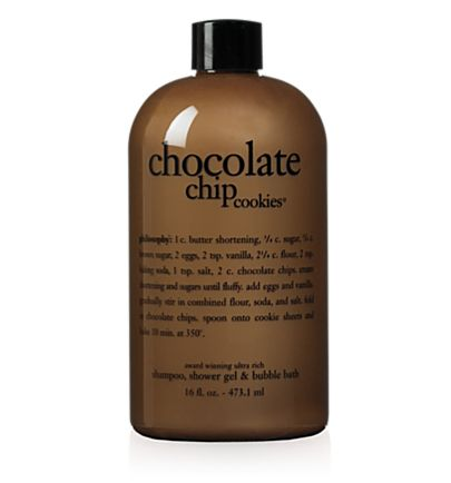 Choclate Chip Sampoo, Shower Gel, Buble Bath.jpg