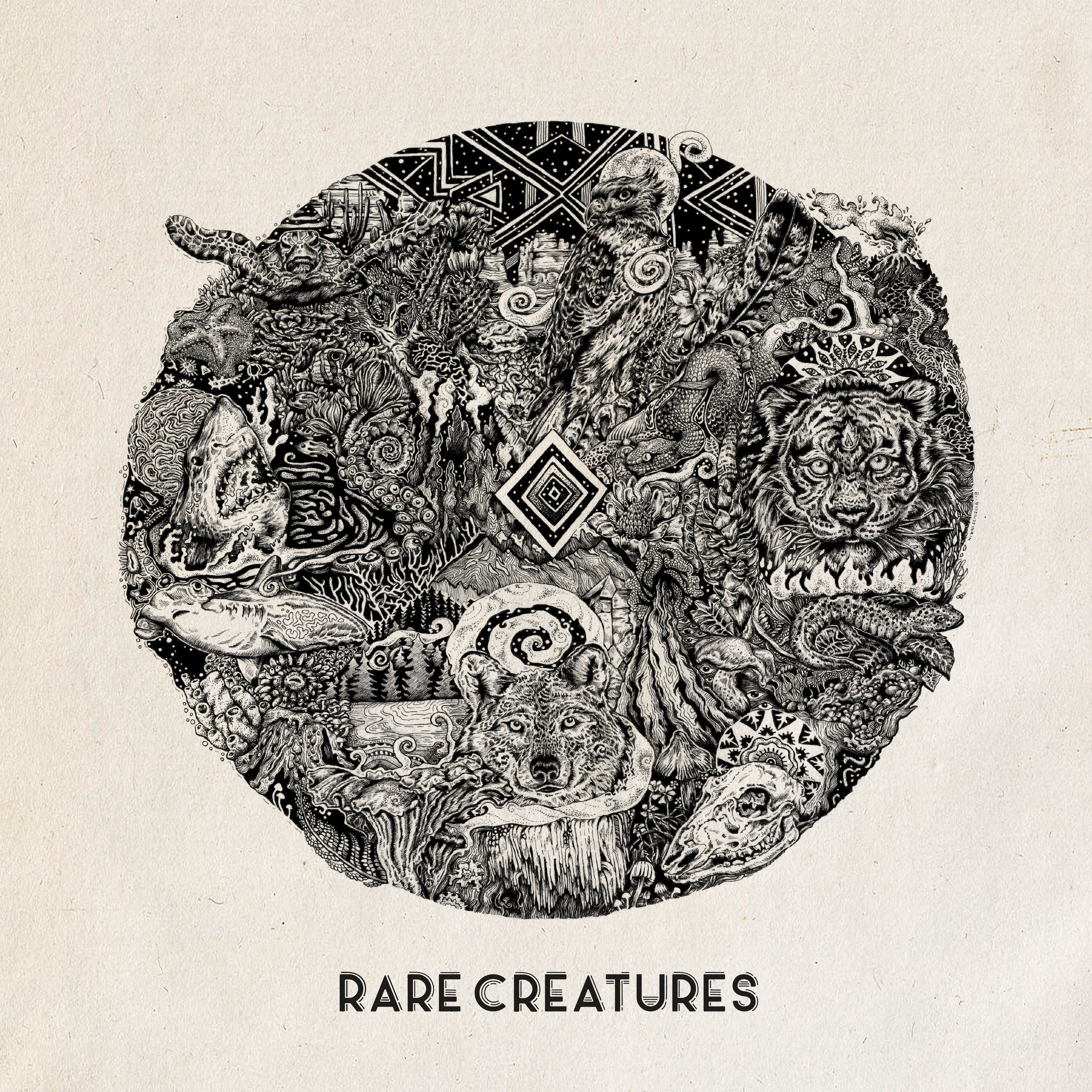 Rare Creatures - Self-Titled Debut Album Producer/Engineer/Mixing