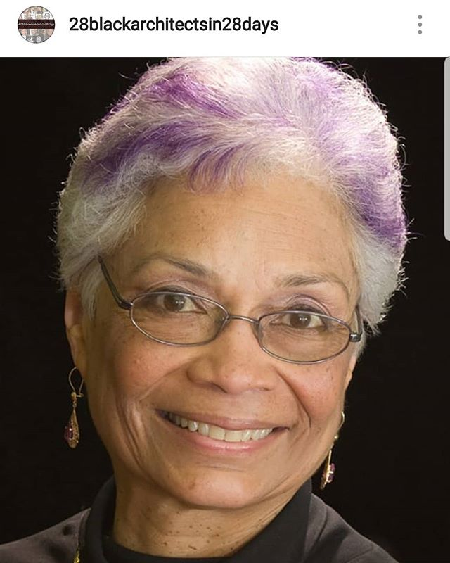 Follow @28blackarchitectsin28days to learn about today's #BlackArchitect, Dr. Sharon Sutton, FAIA, the 12th African American Woman to be licensed as an architect!  #28BlackArchitectsIn28Days #BlackHistory  #BlackArchitects