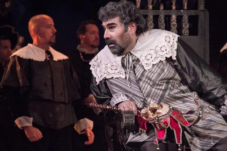 Gaspar Colón en el montaje de Rigoletto del año 2013.  Foto: Francisco Marchena | Venezuela Sinfónica