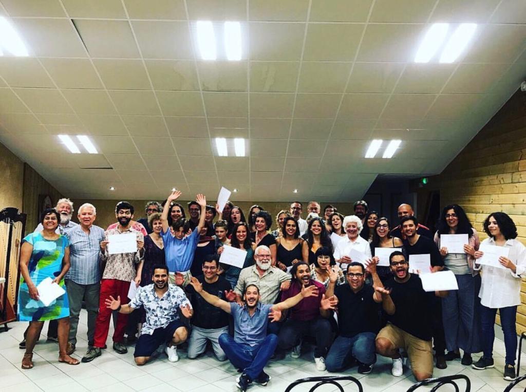 Participantes del XVII Curso Internacional de Verano de Música Criolla || Foto: Cortesía María Alejandra Rivas