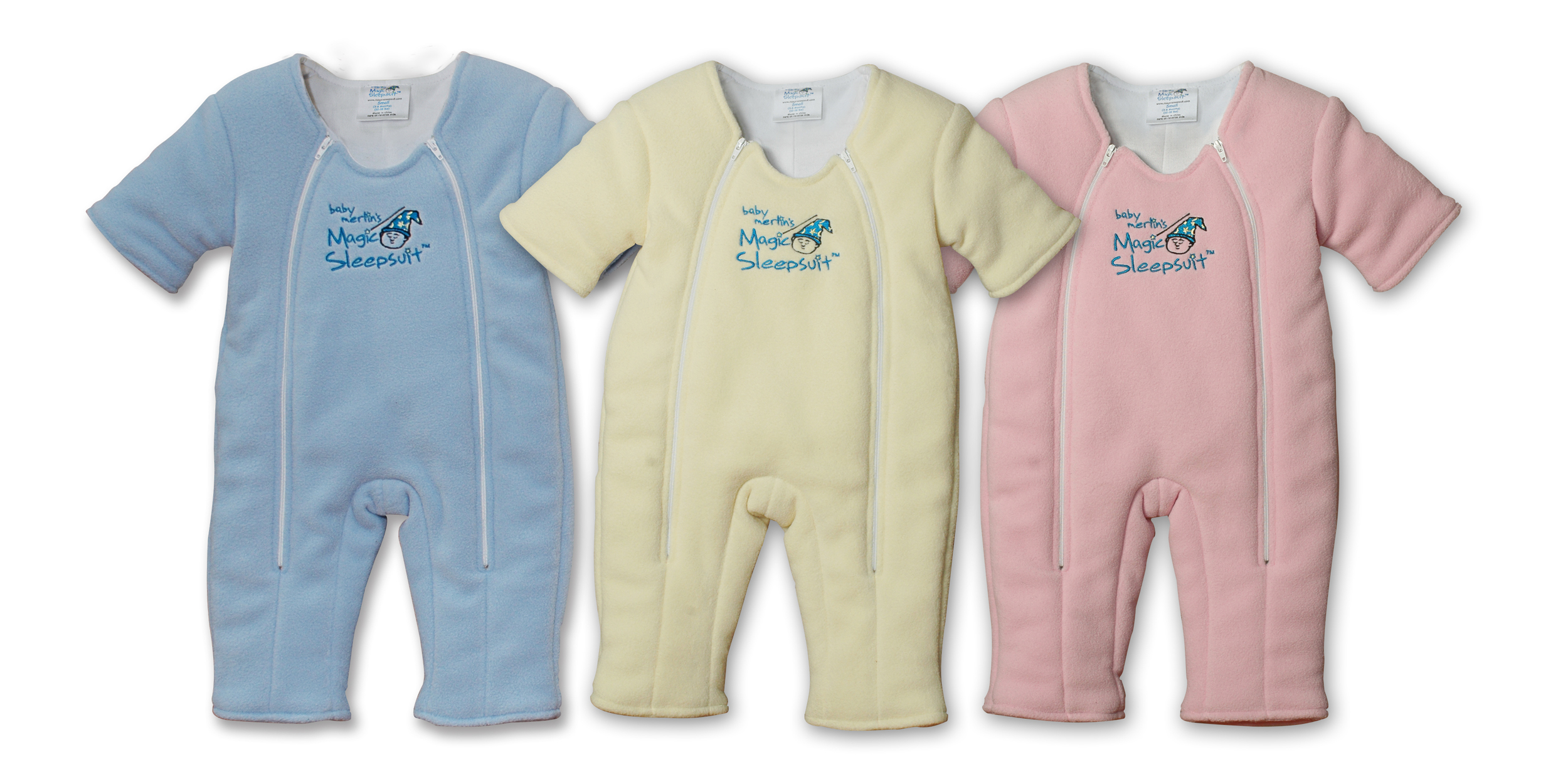 A patented swaddle transition product that provides babies with a cozy and secure feeling to help aid in their sleep.