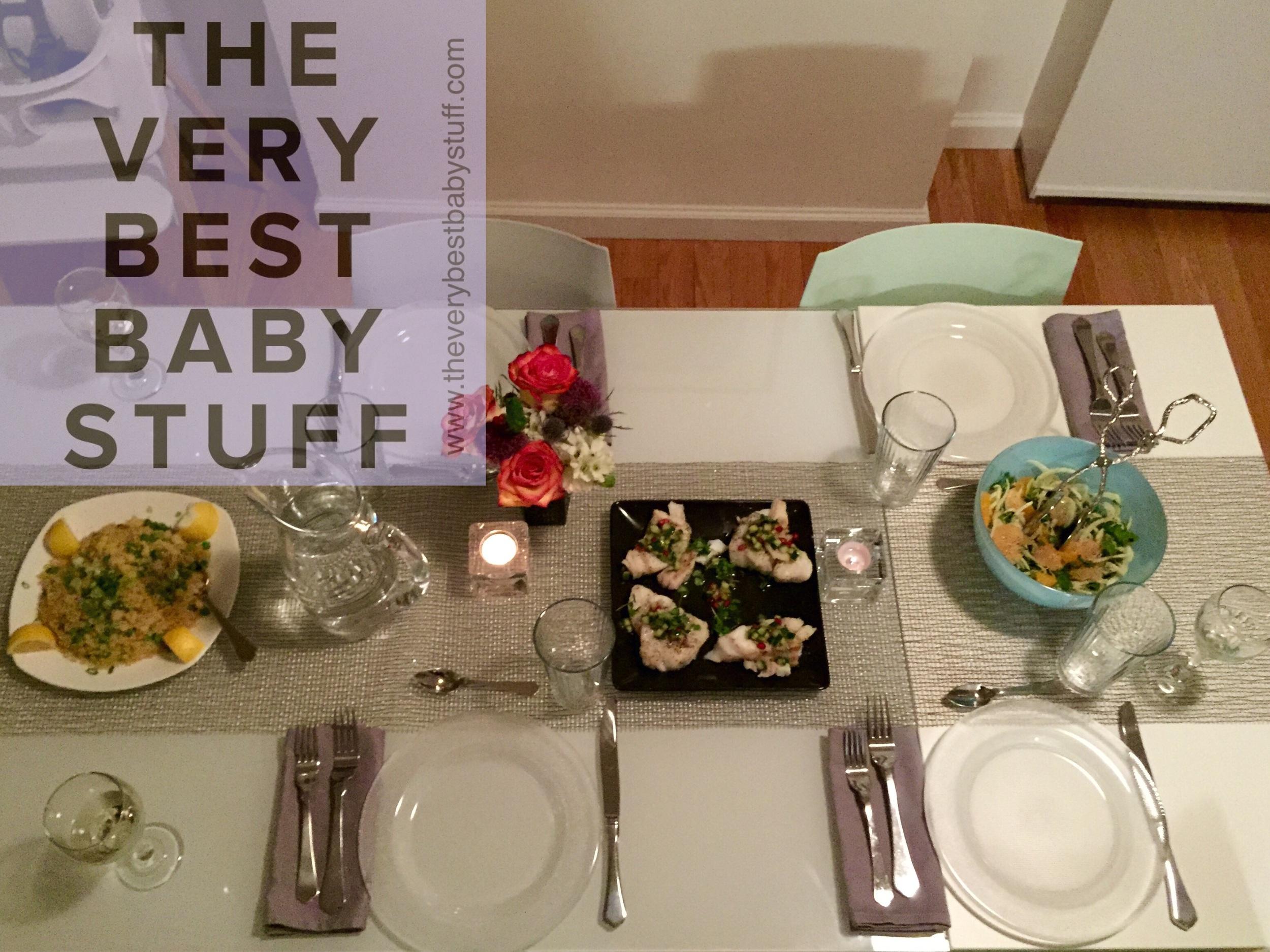 My Kitchensurfing dinner