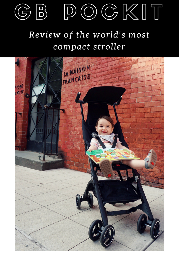 GB Pockit: Review of the world's most compact stroller by a NYC mom