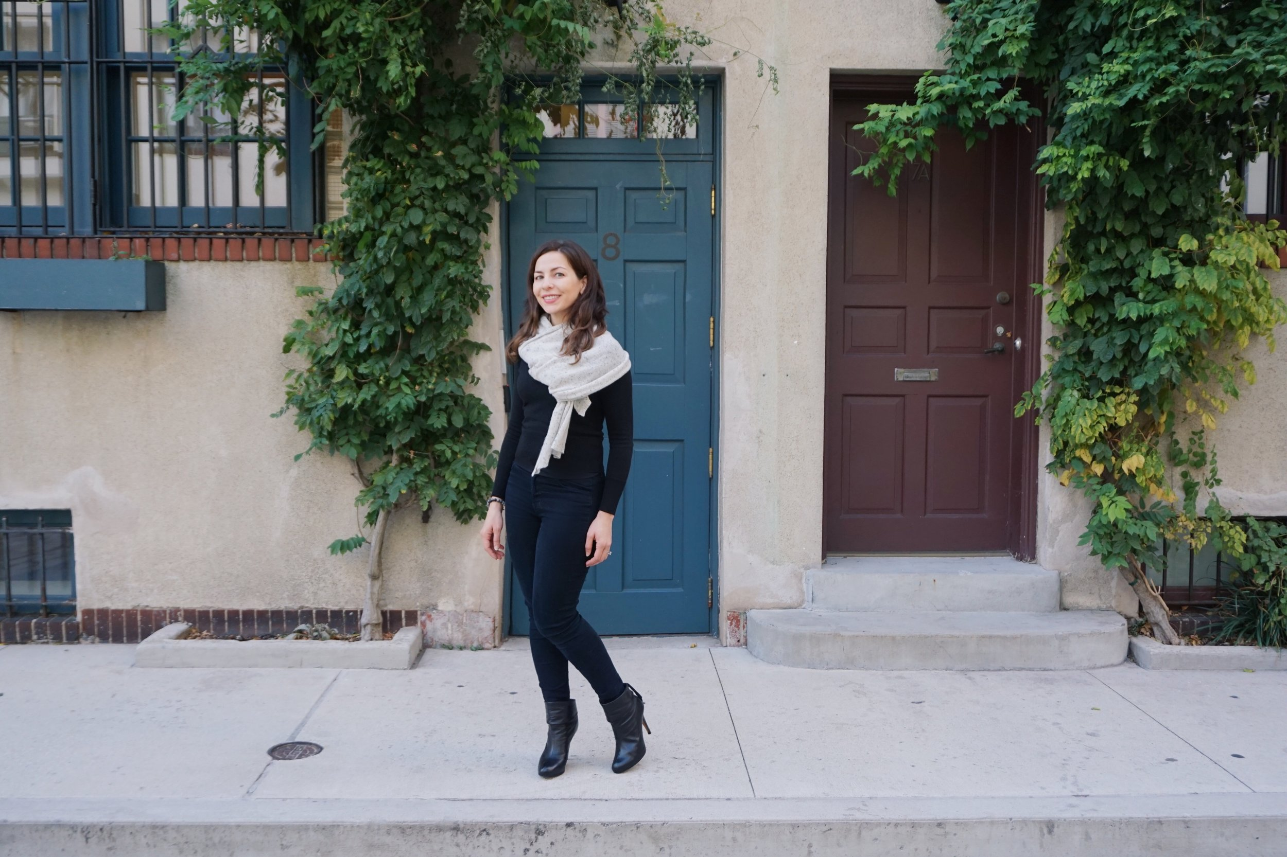 cashmere scarf | The Very Best Baby Stuff