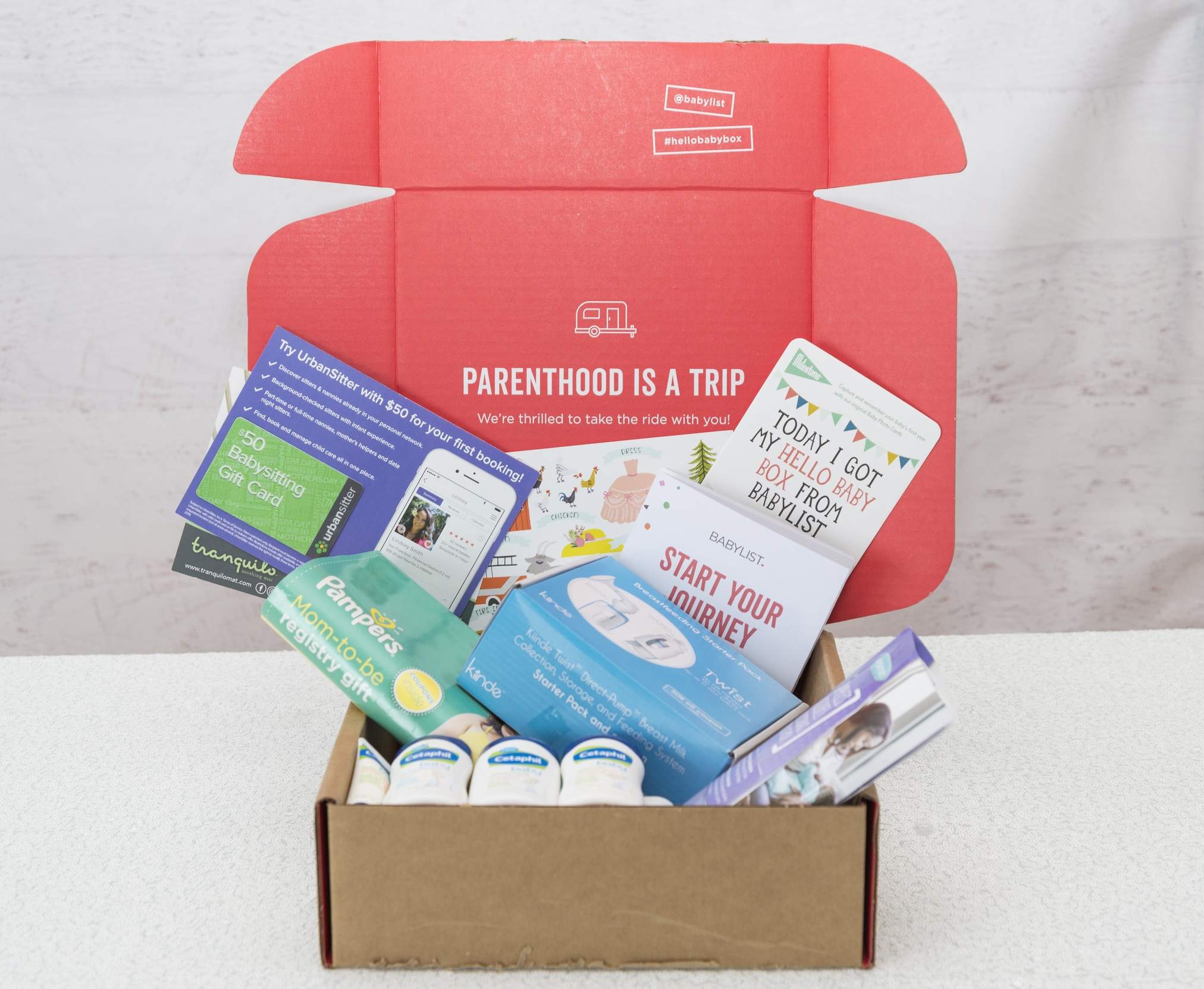 Here is the  Hello Baby Box  that I received from Babylist, read on for more info on how to receive yours!