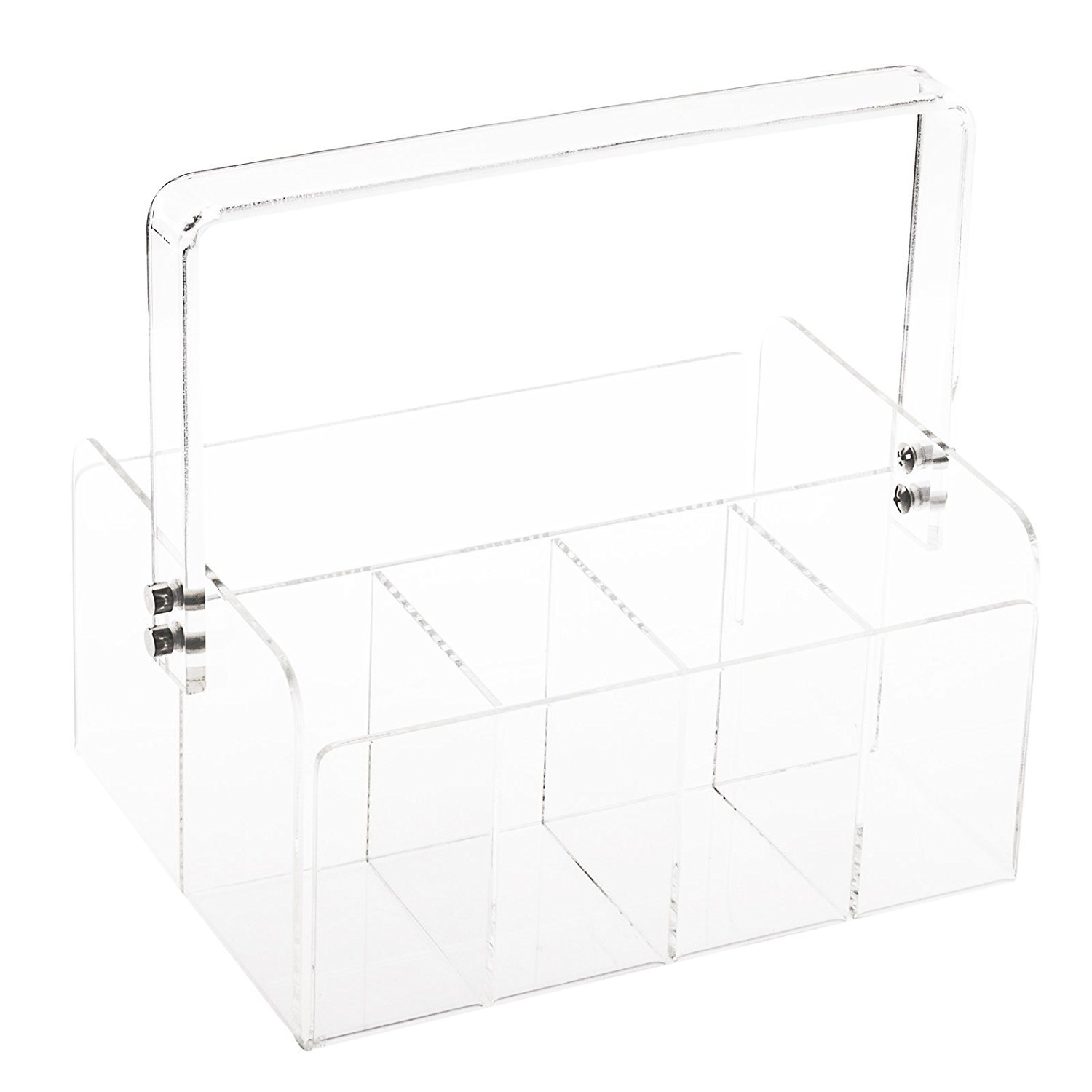 clear flatware caddy - third trimester to do list