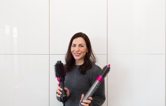 dyson airwrap vs. revlon volumizer