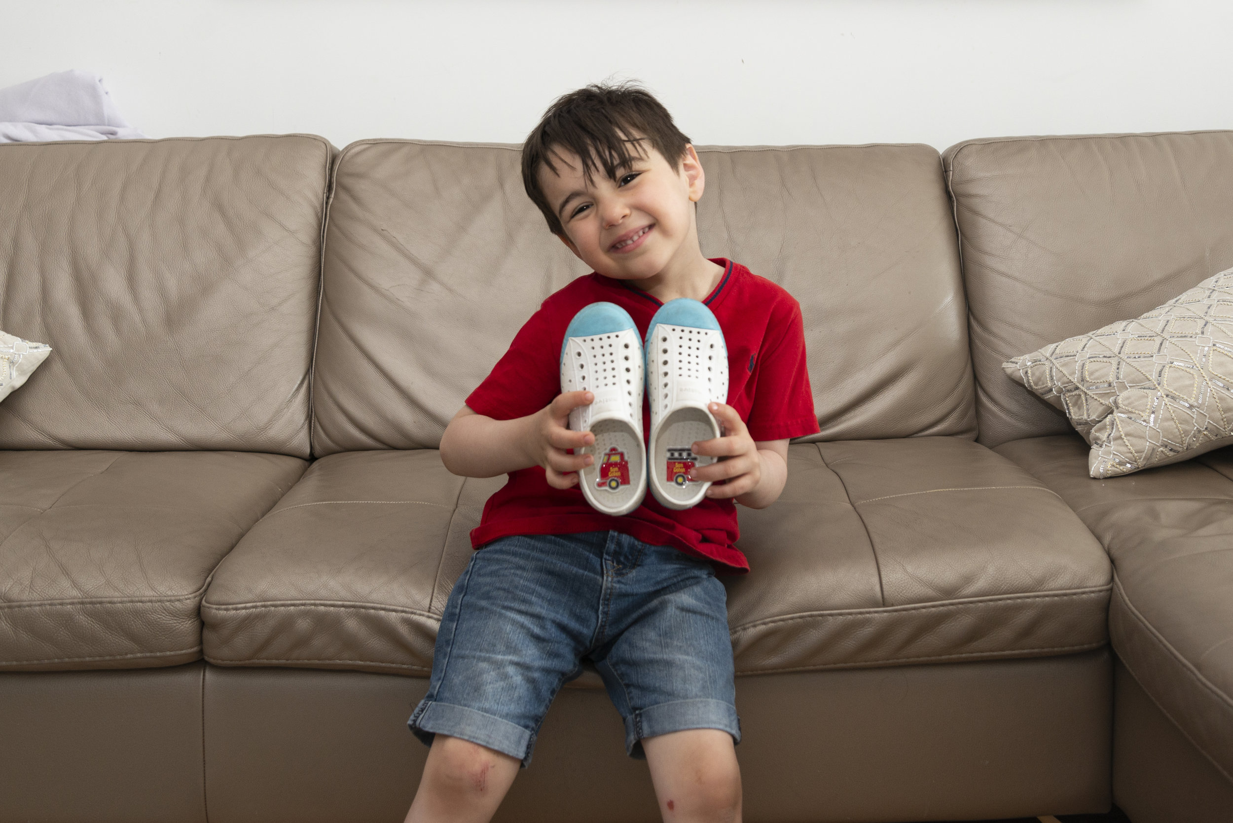 preschool shoe labels to tell right from left