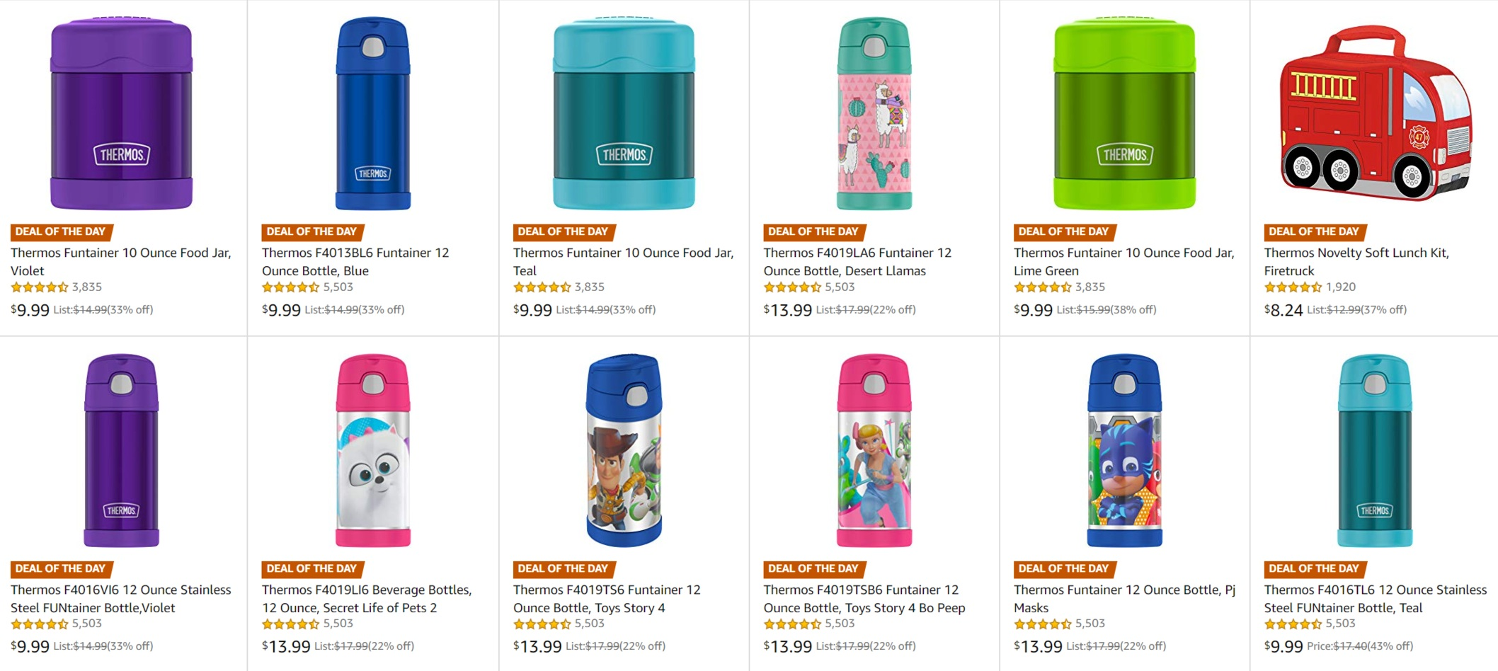 thermos foogo deal of the day