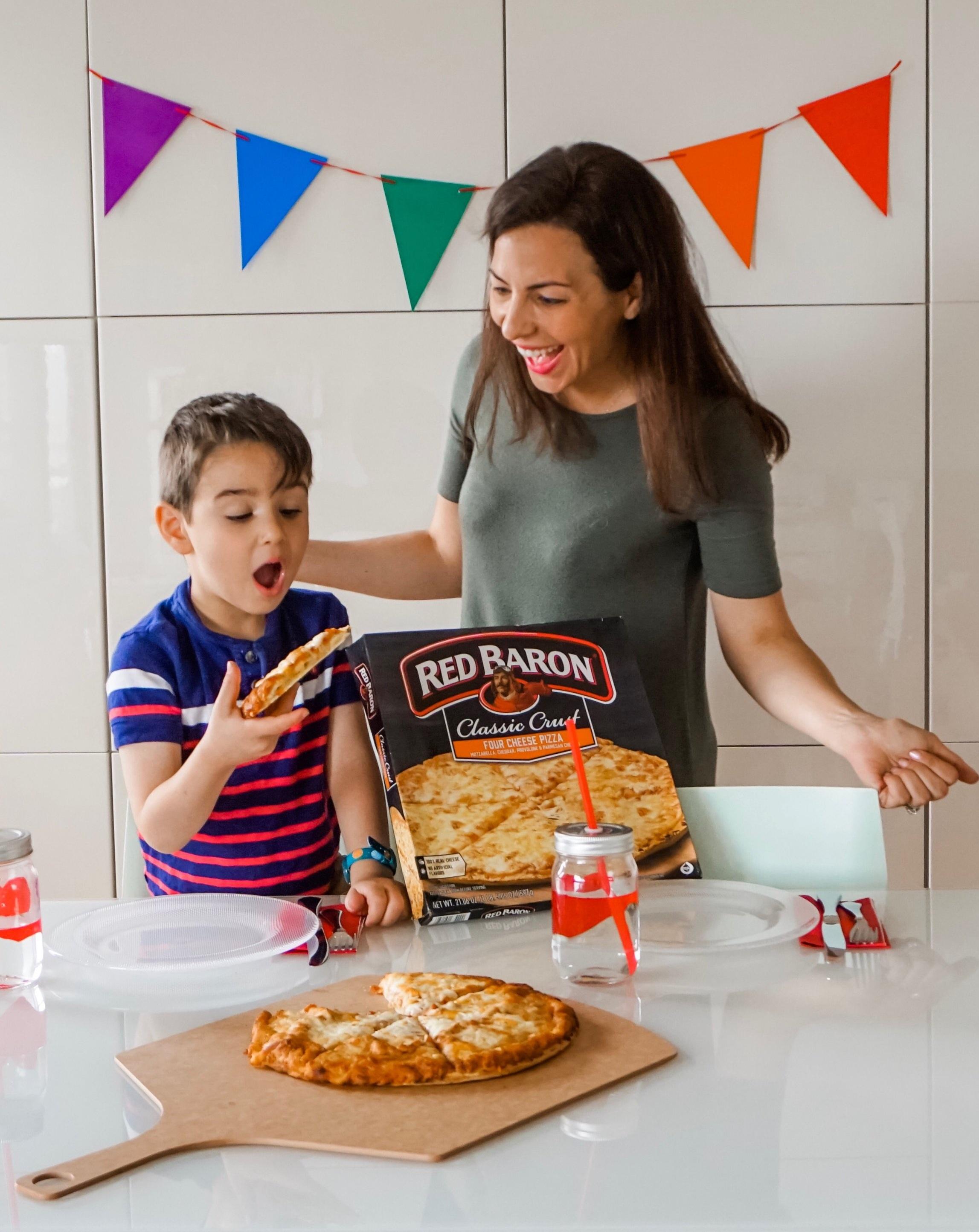 Miriam Cohen Red Baron Pizza