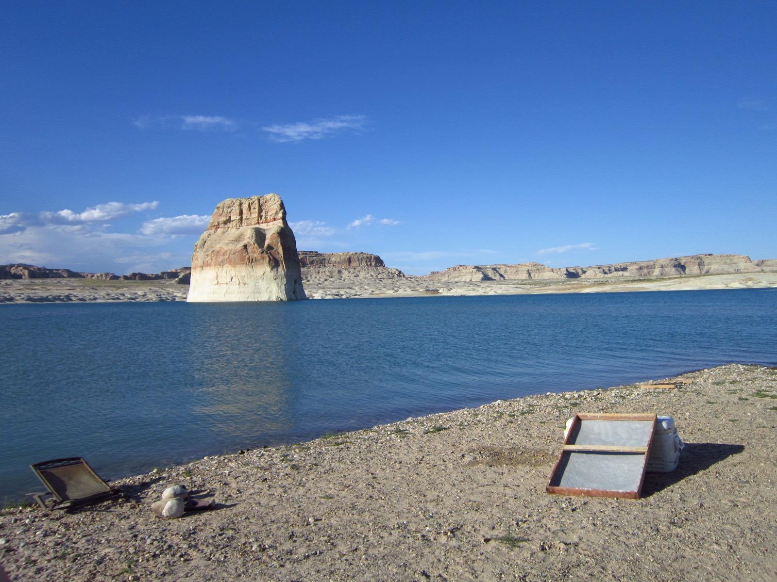 Lone Rock Beach - Wahweap Bay, Navajo Nation, Lake Powell, Utah