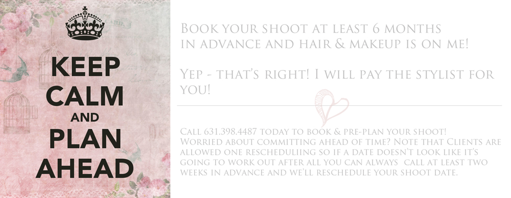 An incentive for planners from Long Island Boudoir Photography