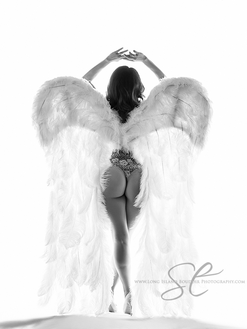 couture wings special event boudoir photo shoot by long island boudoir photography