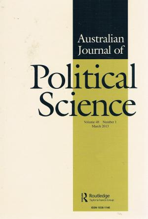 SPECIAL ISSUE 2018. Governance, Public Policy and Boundary-Making. Australian Journal of Political Science. (With Paul Fawcett, Jenny Lewis, and Siobhan O'Sullivan)