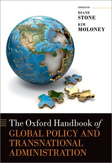 2019. 'Sovereignty renewed: Transgovernmental policy networks and the global-local dilemma' in D. Stone & K. Maloney eds., Oxford Handbook on Global Public Policy and Transnational Administration.