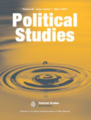 Preaching to the converted: Parliament and the Proscription Ritual, Political Studies. 65(4). (with Lee Jarvis)