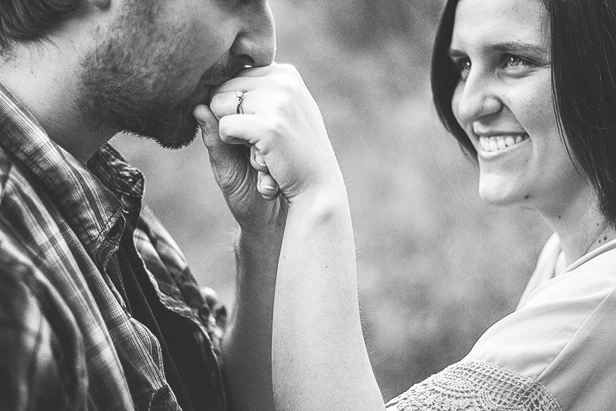 Brianna + John soak up the moment & each other in this gorgeous Oak Openings engagement session.