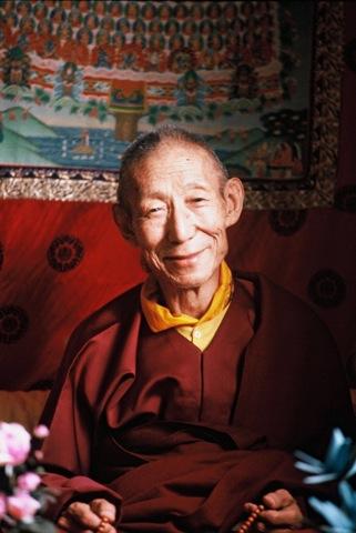 His Holiness Kyabje Trijang Dorje Chang