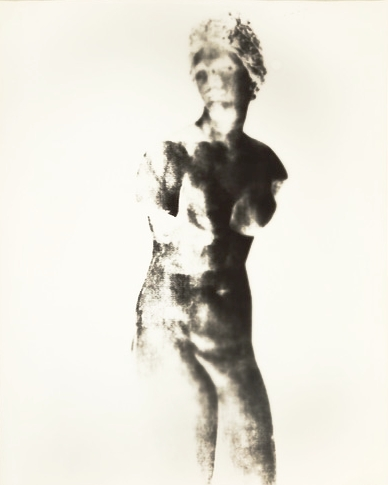 Aphrodite III  16 x 20 inches Unique Gelatin Silver Paper Negative