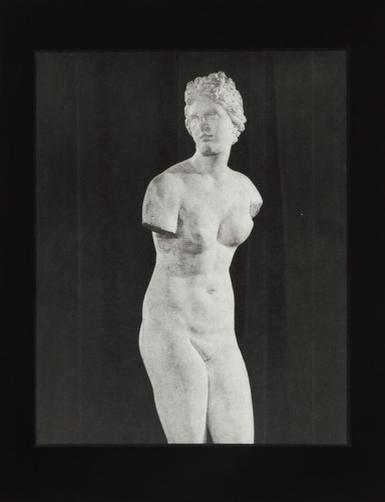 Aphrodite II  Unique Gelatin Silver Print 14 x 11 inches